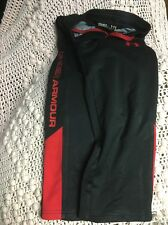 UNDER ARMOUR BOYS ALLSEASON GEAR LOOSE FIT Small Black with Red Lettering PANTS