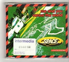 (FZ947) Space, Me And You Versus The World - 1996 DJ CD