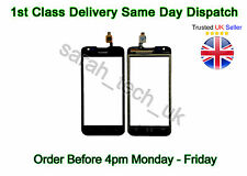 New Genuine Huawei Ascend Y550 Y 550 Touch Digitizer Screen Glass Lens Pad Black