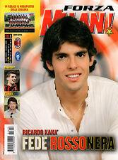 FORZA MILAN!=N°10 2006 ANNO XXXVIII=POSTER ROSA SQUADRA=LILLE=AEK ATHENS=KAKA'