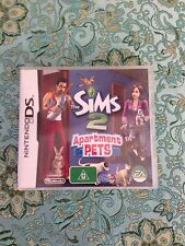 The Sims 2 Apartment Pets Nintendo DS Video Game Complete