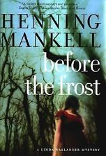 Before The Frost: A Linda Wallander Mystery (Kurt Wallander Mysteries)-ExLibrary
