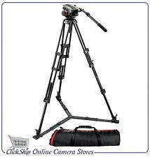 Manfrotto 504HD,546GBK Kit 504HD Head with 546GB 2-Stage Aluminum Tripod System