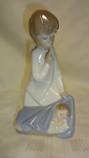 Attractive Lladro Spain Figure - Guardian Angel Figure With Baby 4635