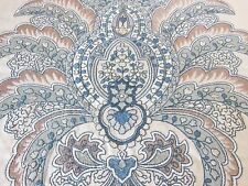 Colefax & Fowler Embroidered Fabric Sample - Martinez