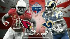 NFL Tickets & Hotel Package for 2. Cardinals Vs L.A.Rams London Twickenham 22/10