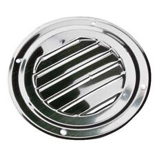 AISI 316 Marine Grade Stainless Steel Round Louvered Boat caravan Vent 125mm
