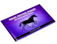 D165 Close-Up Magic Moving Image Book Naked Eye 3D Optical Illusion Gift for Kid