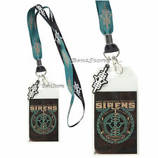 Sleeping With Sirens SWS Band Logo Lanyard ID Card Holder Neck Strap Logo Charm