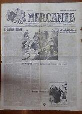 IL MERCANTE 6 marzo 1947 Quando moriva un Cardinale De Gasperi scherza Pisanelli