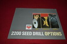 Versatile 2200 Seed Drill Options Dealers Brochure YABE11
