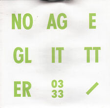 "NO AGE Glitter 2010 US vinyl 7"" + MP3 Sub Pop SEALED"