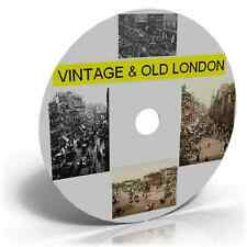 Vintage Old London Town City Nostalgic Images Photos Postcards on CD 300+