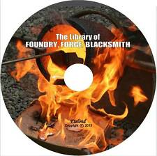 Navy Foundry Manual 1958+Library Foundry Forge Blacksmith+Cupola Furnace on DVD