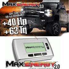 New 2.0 Hypertech Max Energy Programmer 2011-2016 Chevy Duramax Silverado 6.6L