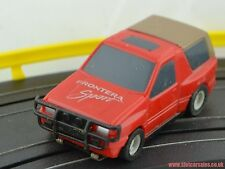Rare Micro Scalextric Vauxhall Frontera Sport in Red Fully serviced HO Scale