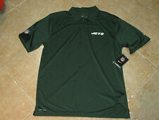 "NIKE NEW YORK JETS DRIFIT ""ONFIELD"" POLO SHIRT(SMALL) NWT $70 GREEN ULTRA SOFT"