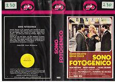 SONO FOTOGENICO (1980) VHS