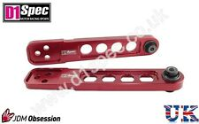 D1 SPEC RACING REAR LOWER CONTROL ARMS RED FOR HONDA CIVIC EP3 01-05 TYPE R