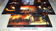 GHOSTS OF MARS ! john carpenter jeu 8 photos cinema lobby cards fantastique gore