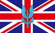 5' x 3' FLAG Union Jack SAS Who Dares Wins Special Air Service Military Flags