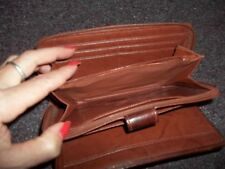 vintage genuine leather cowhide BUXTON wallet good condition womans
