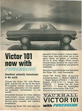 VAUXHALL VICTOR 101 POWERGLIDE 1965 LAUNCH ADVERTISEMENT 04.65 (UK)