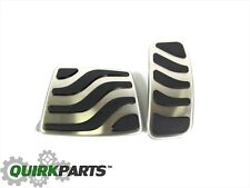 2013-2016 DODGE DART AUTO TRANSMISSION BRAKE & GAS PEDAL PAD COVER KIT MOPAR