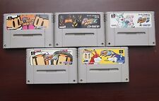 Super Famicom SFC Super BomberMan 1 2 3 4 5 Japan 5 games lots US Seller