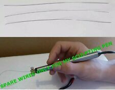 SPARE CUTTING WIRES FOR MY HOT WIRE SCULPTING PEN TOOL (5) FOR £5.00 FREE POST
