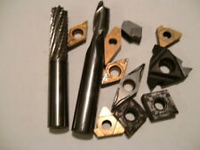 scrap carbide DRILLS Inserts ENDMILLS -- Huge 120 POUND lot -- REGRINDS ?? --