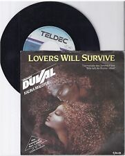 """Frank DUVAL, Lovers will survive, G/vg, 7"""" single 999-118"""
