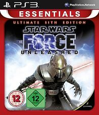 Ps3 gioco Star Wars The Force Unleashed Ultimate Sith Edition NUOVO & OVP