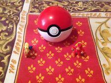 Pokemon Cosplay Pokeball Pop-up Plastic Ball + 2 random Free Figure US Seller