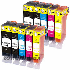 10 Pk NEW PGI-220 CLI-221 Ink Set for Canon  Pixma MP560 MP620 MP640 MX860 MX870