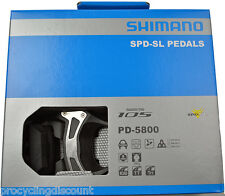 2016 NEW Shimano 105 SPD SL Carbon Pedals & SM-SH11 Floating Cleats: PD-5800