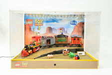 TOY STORY LEGO Western Train Chas  7597 Original LEGO Display - very rare