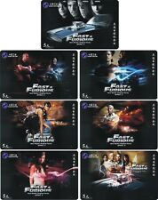 M03912 China phone cards Fast and the Furious 7pcs