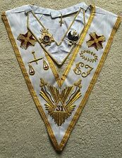 Rose Croix 31st  Degree Collar ' Collar Jewel' Collarette And Collarette Jewel