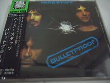 HARD STUFF-Bulletproof JAPAN 1st.Press w/OBI Deep Purple Black Sabbath Gillan