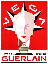 ADVERT COSMETIC PERFUME SCENT FRAGRANCE WOMEN FRANCE ART POSTER PRINT LV121