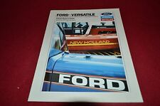 Ford Versatile Tractor Buyers Guide For 1988 Dealers Brochure DCPA5