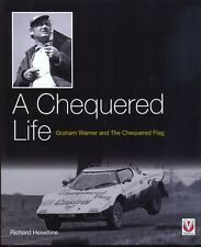 Lancia Stratos book - A Chequered Life,Graham Warner & the Chequered Flag SALE