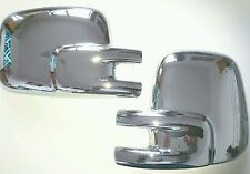 PAIR VW T4 CHROME EFFECT MIRROR COVERS TRANSPORTER CAMPER VAN RHD 1990-2003