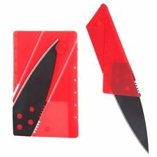 New Wallet Credit Card Foldable Razor Sharp Cardsharp Knife Hiking Survival Tool