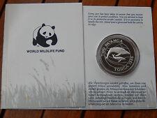 2 Pa´Anga  1986 Tonga  Buckelwal Silber  PP