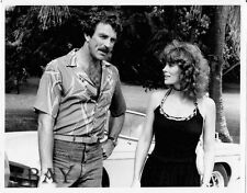 Tom Selleck Magnum P.I. VINTAGE Photo Jill St. John