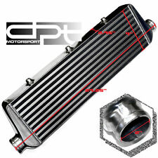 "27.25""X8""X2.75"" 2"" INLET ALUMINUM CHROME FRONT MOUNT TURBO CHARGER INTERCOOLER"