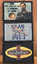 Serenity Firefly Morale Patch  Lot  Aim To Misbehave Blue Sun Jayne Damage Calm