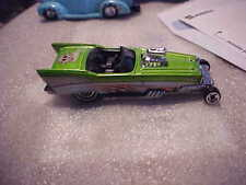Hot Wheels Loose Treasure Hunt '57 Roadster with Real Rider Tires On Back